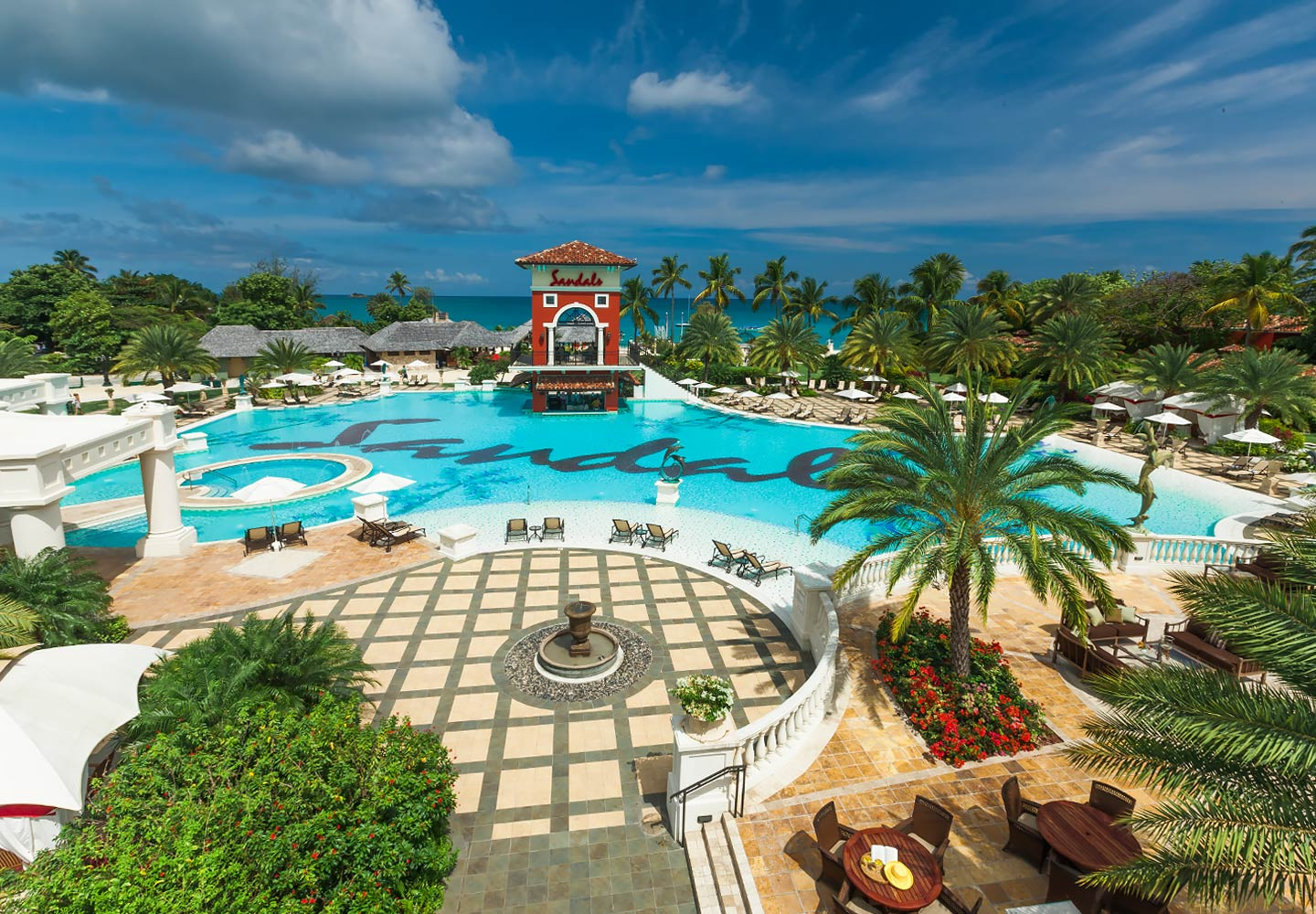 Sandals grande antigua luxury long haul for Mediterranean all inclusive resorts